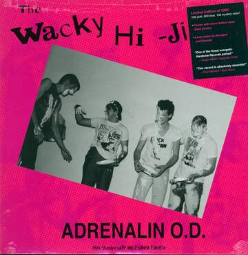 Adrenalin O. D.: The Wacky Hi-Jinks Of Adrenalin O.D.