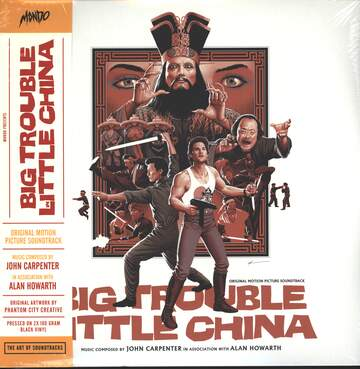 John Carpenter / Alan Howarth: Big Trouble In Little China (Original Motion Picture Soundtrack)