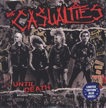 The Casualties: Until Death Studio Sessions