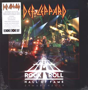 Def Leppard: Rock & Roll Hall Of Fame 29 March 2019