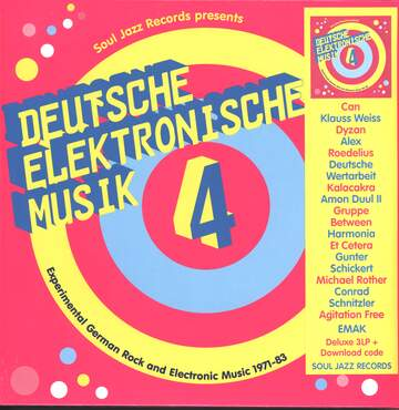 Various: Deutsche Elektronische Musik 4 (Experimental German Rock and Electronic Music 1971-83)