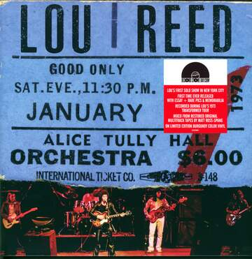 Lou Reed: Live At Alice Tully Hall