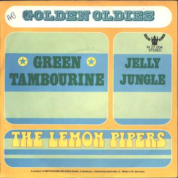 The Lemon Pipers: Green Tambourine / Jelly Jungle