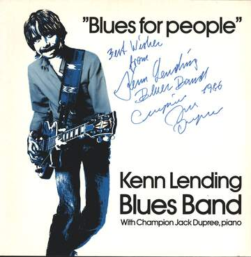 Kenn Lending Blues Band: Blues For People