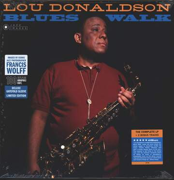 Lou Donaldson: Blues Walk + 2 Bonus Tracks