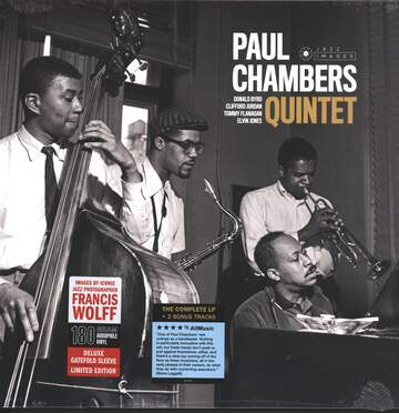 Paul Chambers Quintet / Donald Byrd / Clifford Jordan / Tommy Flanagan / Elvin Jones: Paul Chambers Quintet