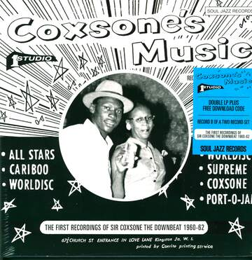 Various: Coxsone's Music (The First Recordings Of Sir Coxsone The Downbeat 1960-62)