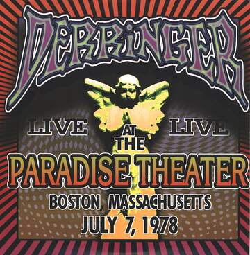 Derringer: Live At The Paradise Theater, Boston Massaschussetts, July 7, 1978