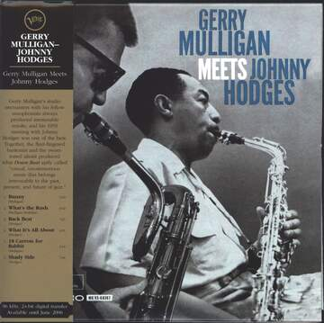 Gerry Mulligan / Johnny Hodges: Gerry Mulligan Meets Johnny Hodges