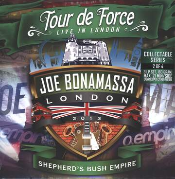 Joe Bonamassa: Tour De Force - Live In London - Shepherd's Bush Empire