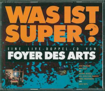 Foyer Des Arts: Was Ist Super?