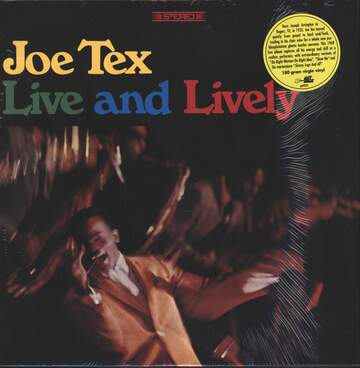 Joe Tex: Live And Lively