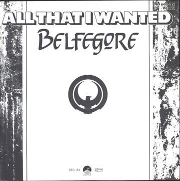 Belfegore: All That  I Wanted