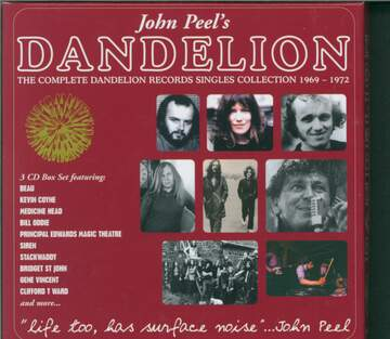 Various: Life Too, Has Surface Noise: The Complete Dandelion Records Singles Collection 1969-1972