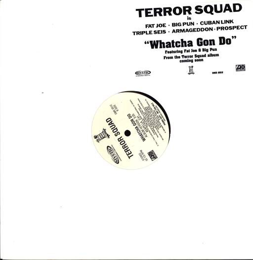 "Terror Squad: Whatcha Gon Do, 12"" Maxi Single (Vinyl)"