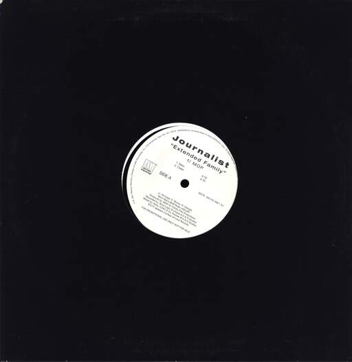 "Journalist: Extended Family, 12"" Maxi Single (Vinyl)"