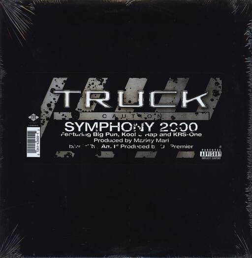 "Truck Turner: Symphony 2000 / Who Am I, 12"" Maxi Single (Vinyl)"