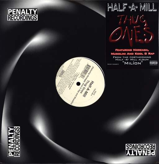 "Half-A-Mill: Thug Ones, 12"" Maxi Single (Vinyl)"