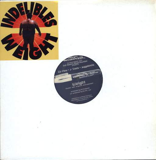 "Indelible MC's: Weight / Mucho Stereo, 12"" Maxi Single (Vinyl)"