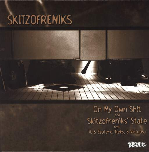 "Skitzofreniks: On My Own Shit / Super Hoe / Skitzofreniks' State / Sicilians (Remix), 12"" Maxi Single (Vinyl)"