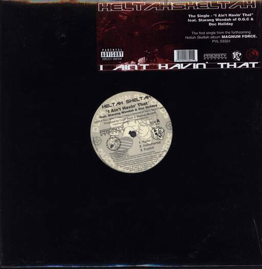 "Heltah Skeltah: I Ain't Havin' That / Worldwide, 12"" Maxi Single (Vinyl)"