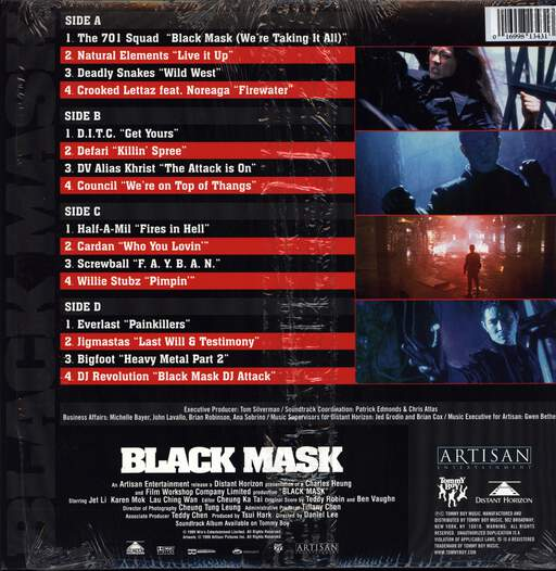 Various: Black Mask - Music From The Original Motion Picture, LP (Vinyl)