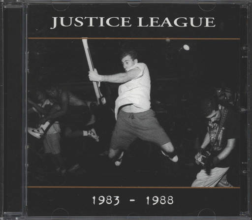 Justice League: Discography 1983 - 1988, CD