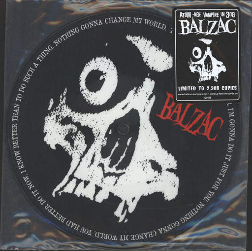 "Balzac: Out Of The Blue II, 7"" Single (Vinyl)"