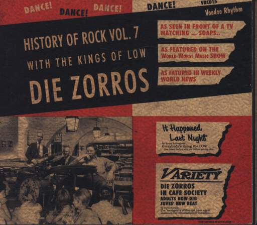 Die Zorros: History Of Rock Vol. 7, CD