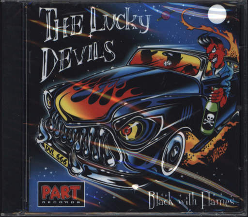Lucky Devils: Black With Flames, CD