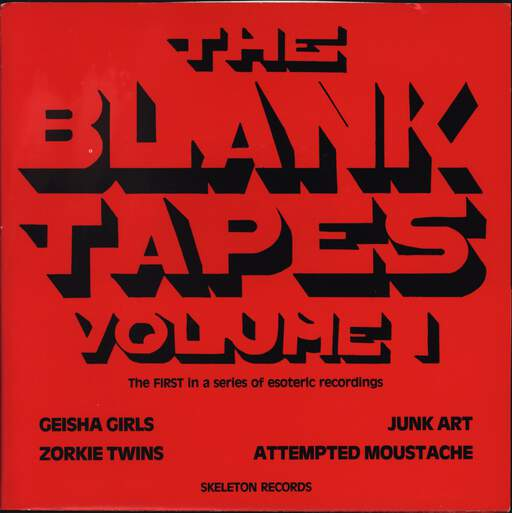 "Various: The Blank Tapes Volume 1, 7"" Single (Vinyl)"