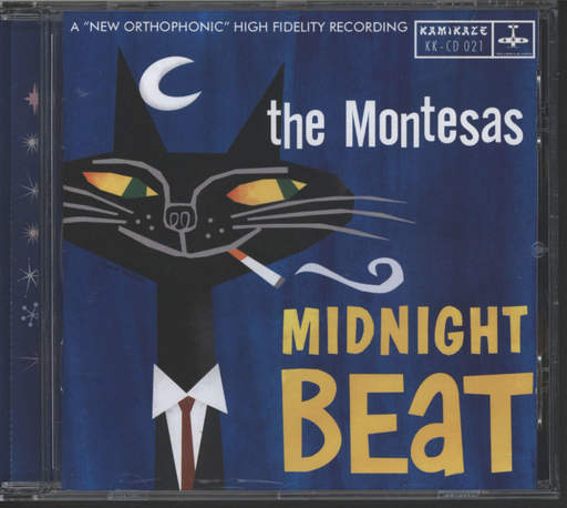 Montesas: Midnight Beat, CD