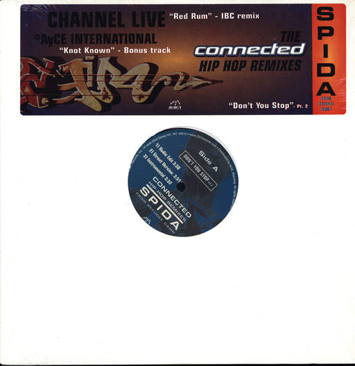 "Various: The Connected Hip Hop Remixes, 12"" Maxi Single (Vinyl)"
