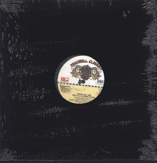 "Shabba Ranks & Krystal: Twice My Age, 12"" Maxi Single (Vinyl)"