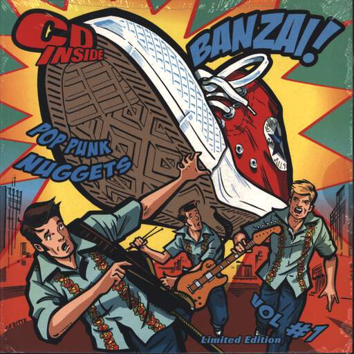 Various: BANZAI! Pop Punk Nuggets, CD