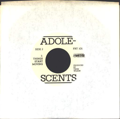 "Adolescents: Welcome To Reality, 7"" Single (Vinyl)"
