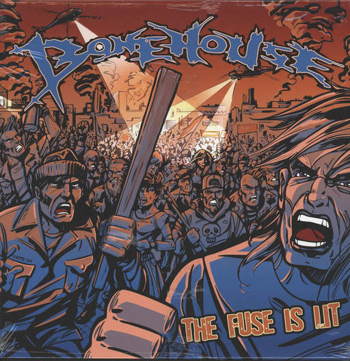 Bonehouse: The Fuse Is Lit, LP (Vinyl)