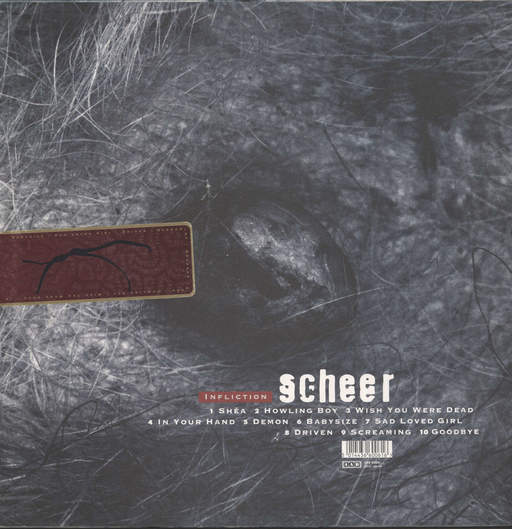 Scheer: Infliction, LP (Vinyl)
