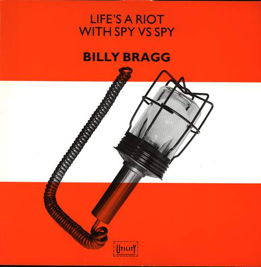 Billy Bragg: Life's A Riot With Spy Vs Spy, Mini LP (Vinyl)