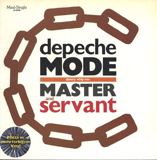 "Depeche Mode: Master And Servant (Slavery Whip Mix), 12"" Maxi Single (Vinyl)"
