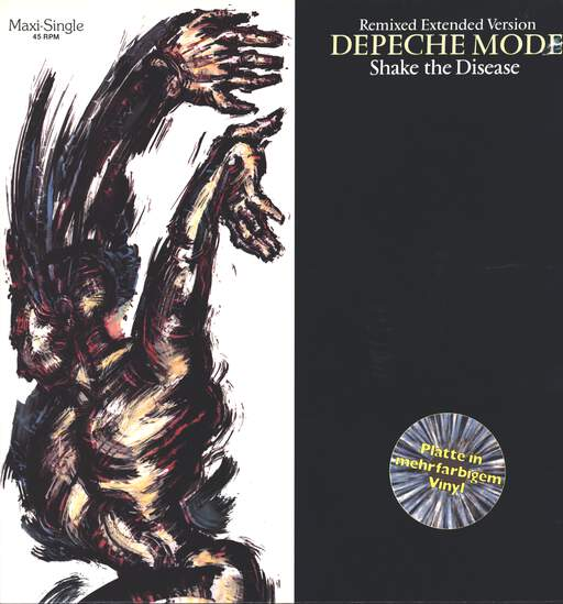 "Depeche Mode: Shake The Disease (Remixed Extended Version), 12"" Maxi Single (Vinyl)"