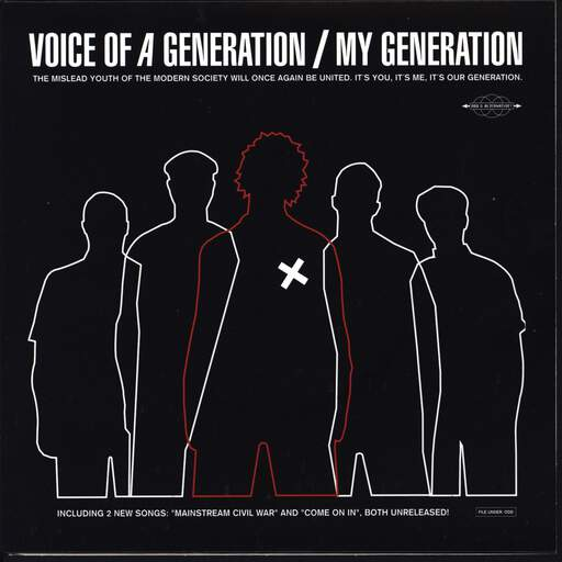"Voice Of A Generation: My Generation, 7"" Single (Vinyl)"