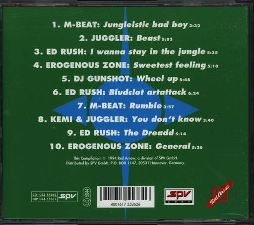 Various: Jungle Vibes Vol. 1, CD