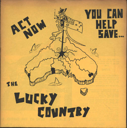 "C. H. a. O. S.: Urgent - Act Now You Can Help Save... The Lucky Country, 7"" Single (Vinyl)"