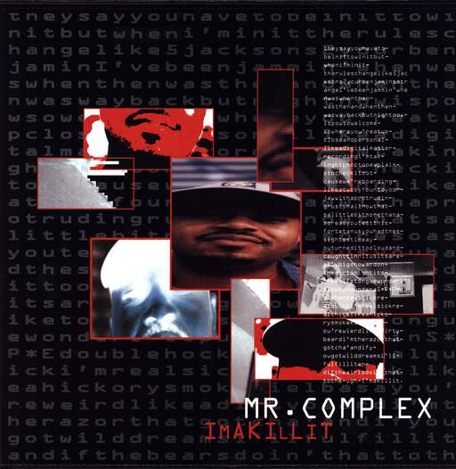 "Mr Complex: Ima Killit, 12"" Maxi Single (Vinyl)"