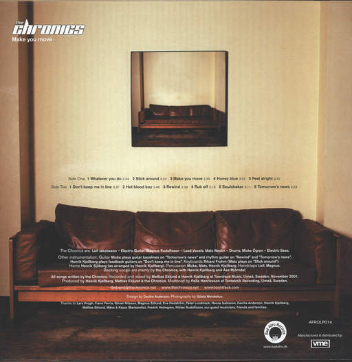 Chronics: Make You Move, LP (Vinyl)