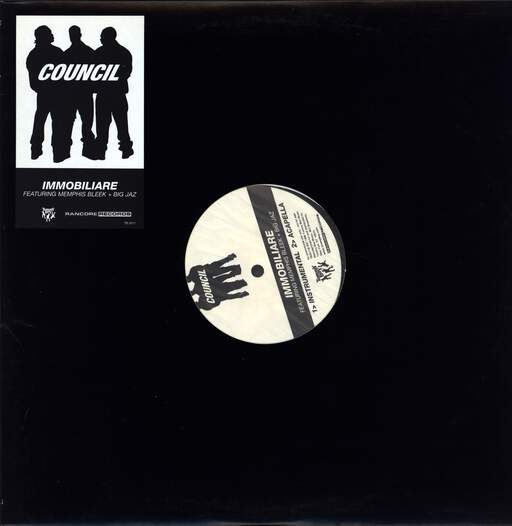 "Council: Immobiliare, 12"" Maxi Single (Vinyl)"