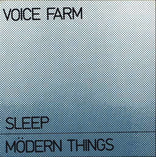 "Voice Farm: Sleep / Mödern Things, 7"" Single (Vinyl)"