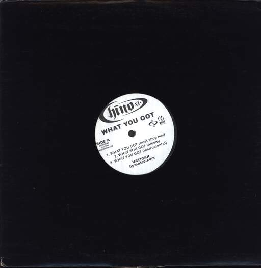 "Chino Xl: What You Got / Let 'Em Live, 12"" Maxi Single (Vinyl)"
