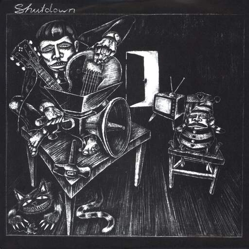 "Shutdown: Sheltered Homes, 7"" Single (Vinyl)"